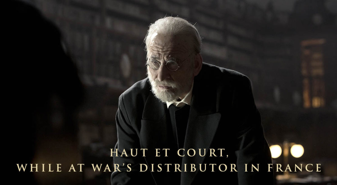 News While at War distributed by Haut et Court in France