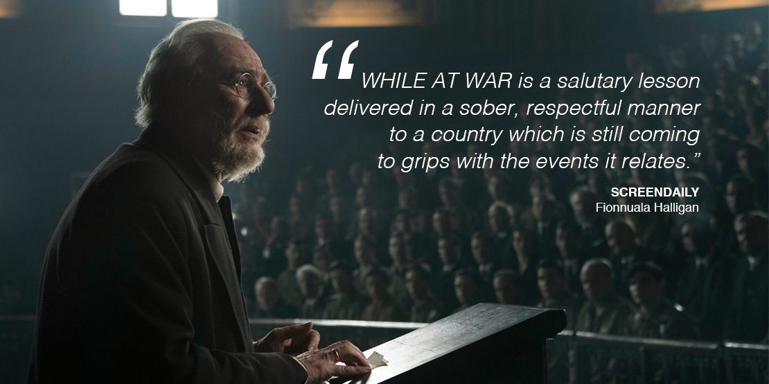 Review While at War by Screendaily